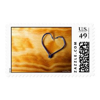 Fisherman's love postage