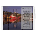 fishermans prayer greeting card