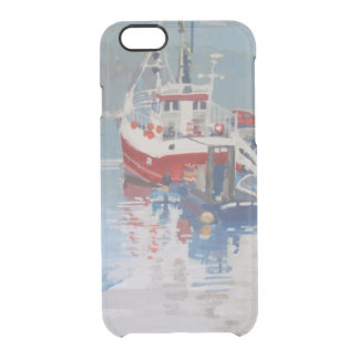 Fisherman's Quay Salcombe Clear iPhone 6/6S Case