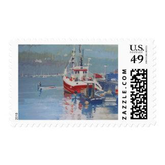 Fisherman's Quay Salcombe Postage