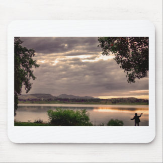 Fisherman's Sky Mouse Pad