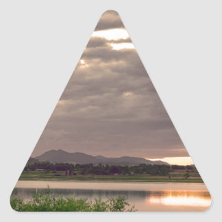 Fisherman's Sky Triangle Sticker