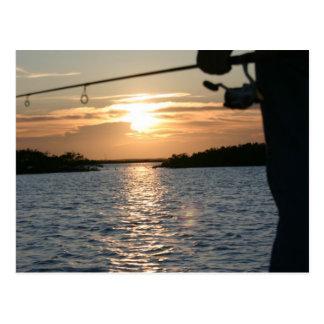 Fisherman's Sunset Postcard