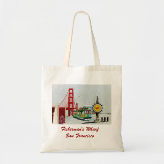 Fisherman's Wharf Canvas Bags