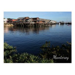 Fishermans Wharf Monterey California Postcard