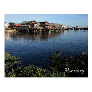 Fisherman's Wharf, Monterey, California Postcard