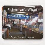 Fisherman's Wharf Mousepad