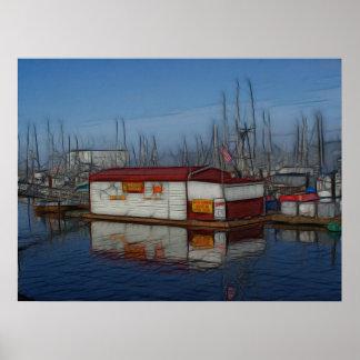 Fisherman's Wharf Poster