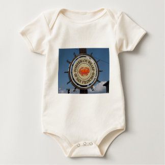 Fisherman's Wharf San Francisco Baby Bodysuit