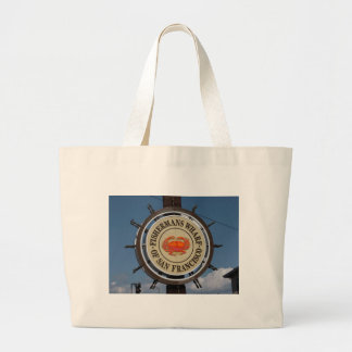 Fisherman's Wharf Sign Canvas Bag