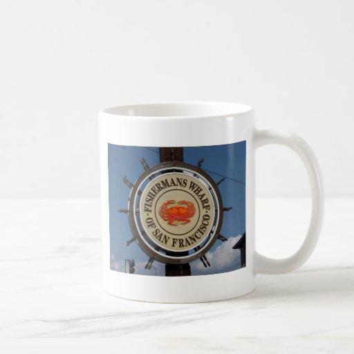 Fisherman's Wharf Sign Coffee Mug