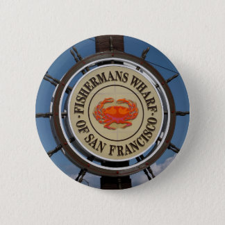 Fisherman's Wharf Sign Pinback Button