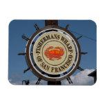 Fisherman's Wharf Sign Rectangular Magnets