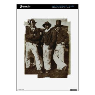 Fishermen Ashore, c.1843-47 (salt paper print from Decal For iPad 3