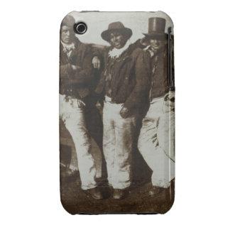 Fishermen Ashore, c.1843-47 (salt paper print from iPhone 3 Covers