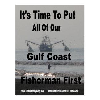 Fishermen First Postcard
