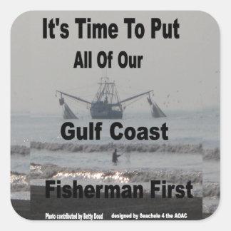 Fishermen First Sticker