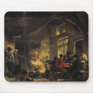 Fishermen from the Island of Marken Mouse Pad