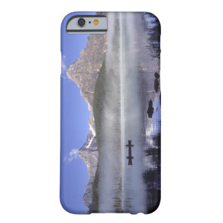 Fishermen in canoe on Waterfowl Lake, Banff Barely There iPhone 6 Case