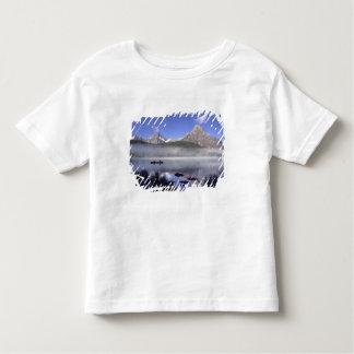 Fishermen in canoe on Waterfowl Lake, Banff Toddler T-shirt