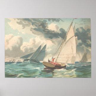 Fishermen off the Banks Print