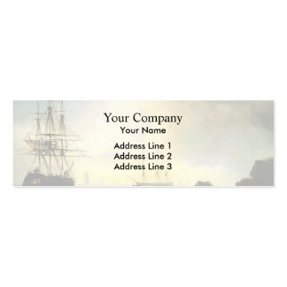 Fishermen on the Shore by Ivan Aivazovsky Business Card