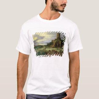 Fishermen on the Shore T-Shirt