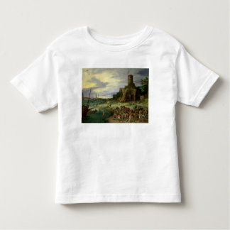 Fishermen on the Shore Toddler T-shirt