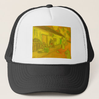 FISHERMENS COTTAGES TRUCKER HAT
