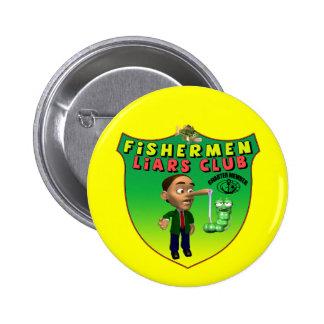 Fishermens Liars Club T-shirts and Gifts Pins