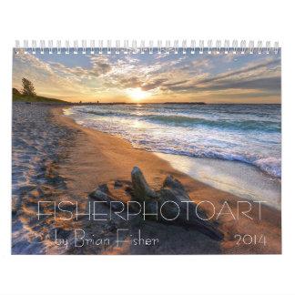 Fisherphotoart 2014 calendar