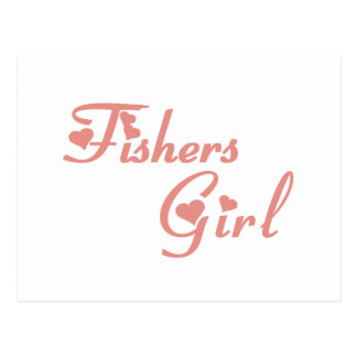 Fishers Girl tee shirts Postcard