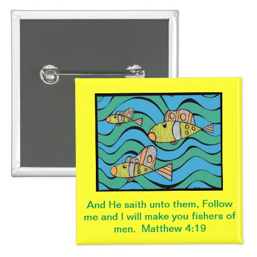Fishers of men button