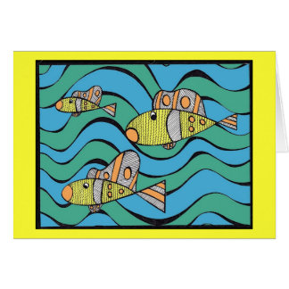 Fishers of men greeting card