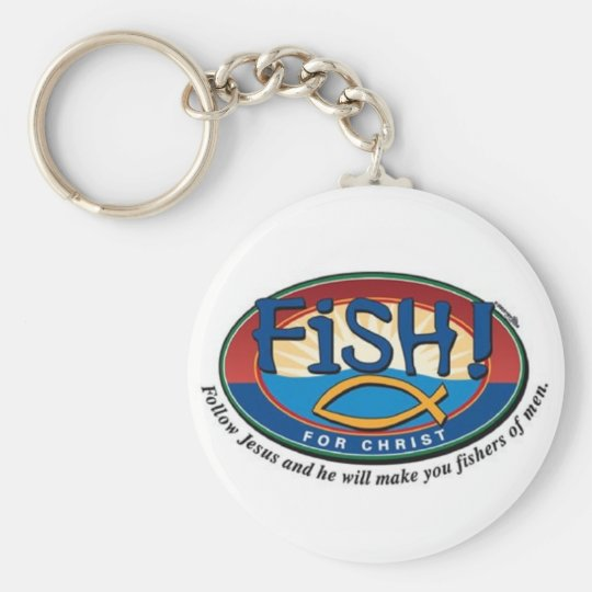 Fishers of men keychain
