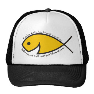 Fishers Of Men - Matthew 4:19 Trucker Hat