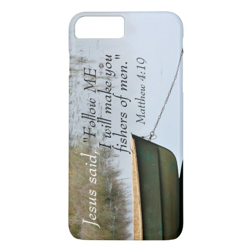 Fishers of Men Scripture iPhone 8 Plus/7 Plus Case