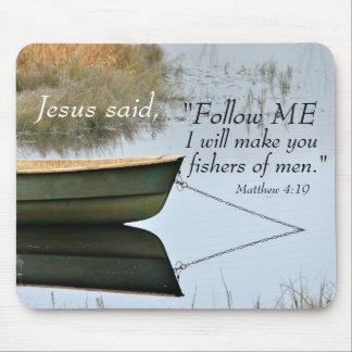 Fishers of Men Scripture Mousepad