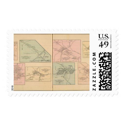 Fishersville, Churchville Stamps