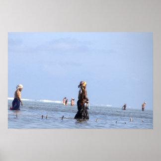 Fisherwoman Poster