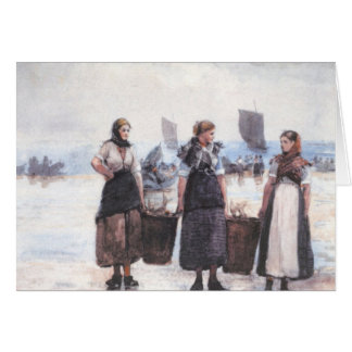 Fisherwomen Card