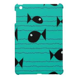 Fishes and reeds case for the iPad mini