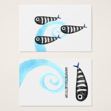 Professional Business Fishes Business Card