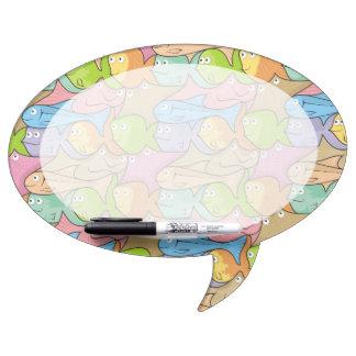 Fishes cartoon Dry-Erase board