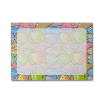 Fishes cartoon post-it notes