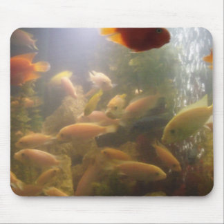 Fishes in a fish Tank Mousepad