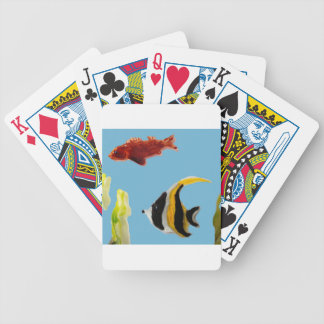 Fishes in the Sea, Aquatic Art Bicycle Playing Cards