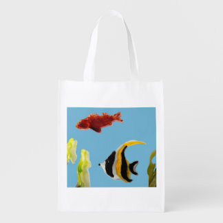Fishes in the Sea Art Market Tote