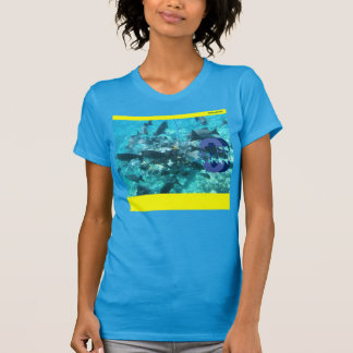 """""""Fishes in the Sea, Too"""" T Shirt"""
