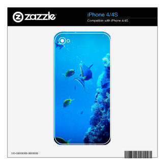 Fishes iPhone 4S Skin